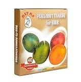 5 Ostereier Farben, Eierfarben für 20 oder 50 Eier Set...