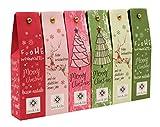 Leo & Lilo Kleiner Weihnachtsgru, Geschenkset mit 6 Handcremes in zauberhafter Verpackung, Naturkosmetik Made in Germany