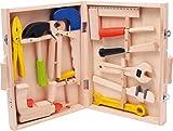 """small foot 2079 Werkzeugkoffer """"Lino"""" aus Holz, mit..."""