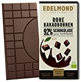Rohe 92% Bio Schokolade Edelmond. Nur Edel-Kakaobohnen...
