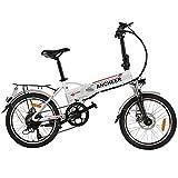 ANCHEER 20 Zoll E-Bike Pedelec, Faltbares...