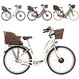 FISCHER E-Bike Retro ER 1804, Elektrofahrrad, beige, 28...