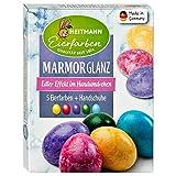 Ostereier Farben / Eierfarben 'Glanz Marmorierung' (6...