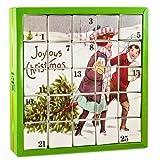 English Tea Shop - Nostalgie Tee Adventskalender 'Joyous', 25 einzelne Boxen mit wrzigen BIO-Tees in hochwertigen Pyramiden-Teebeutel