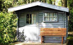 Nachhaltiges Gartenhaus