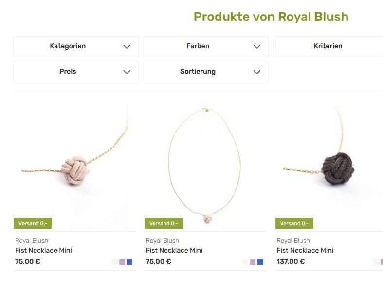 Royal Blush bei Avocadostore