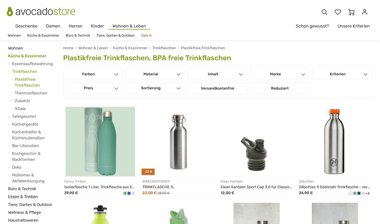 avocadostore_nachhaltige trinkflaschen